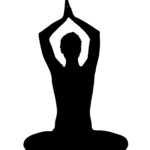 silhouette_yoga